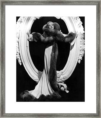 Desire, Marlene Dietrich, 1936, Formal Framed Print by Everett