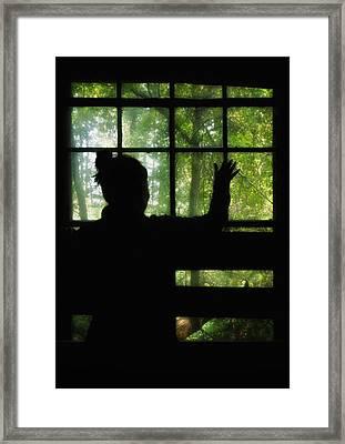 Desperate Ways Framed Print by Evelina Kremsdorf