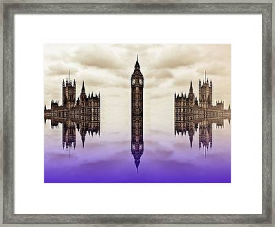 Detached From Time Framed Print by Sharon Lisa Clarke
