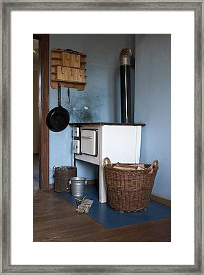 Detail Of An Old-fashioned Kitchen Framed Print by Halfdark