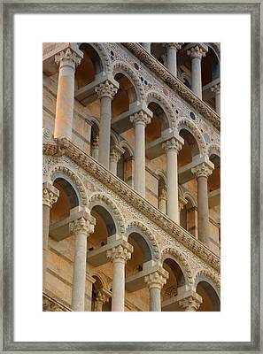 Detailed Close-up Of Piazza Del Framed Print by Carson Ganci