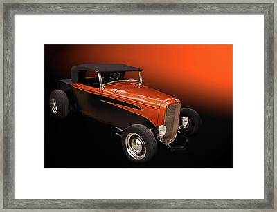 Deuce Pickup Framed Print by Bill Dutting