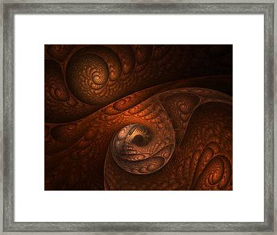 Developing Minotaur Framed Print by Lourry Legarde