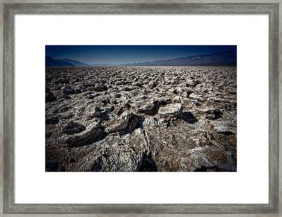 Devil's Golf Course Framed Print by Matt  Trimble