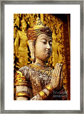 Devotional II Framed Print by Dean Harte