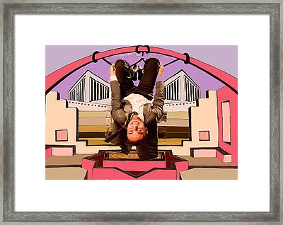 Dezfool Framed Print by Nina Mirhabibi