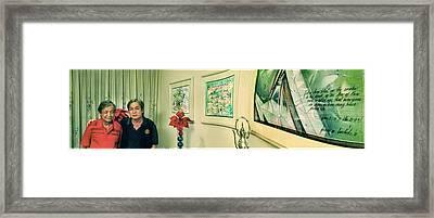 Dg Ate And Pn Glenn 85-91 Framed Print by Glenn Bautista