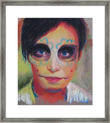 Dia De Los Muertos Framed Print by Billie Colson