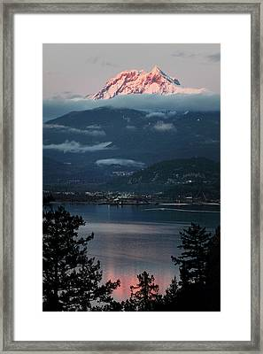 Diamond Head Squamish Framed Print by Pierre Leclerc Photography