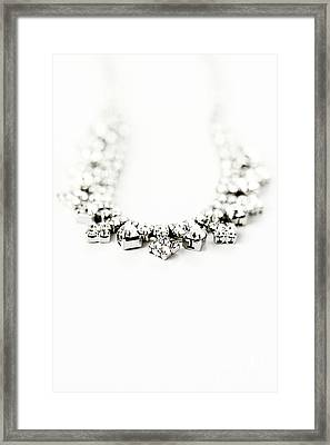 Diamonds Framed Print by Stephanie Frey