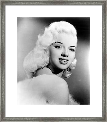 Diana Dors, Ca. 1957 Framed Print by Everett