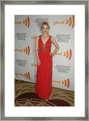 Dianna Agron At Arrivals For 21st Framed Print by Everett