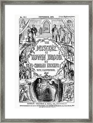 Dickens: Edwin Drood Framed Print by Granger