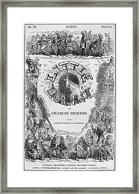Dickens: Little Dorit Framed Print by Granger