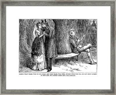 Dickens: Martin Chuzzlewit Framed Print by Granger