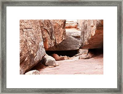 Did Anyone Live Here Framed Print by Bob and Nancy Kendrick