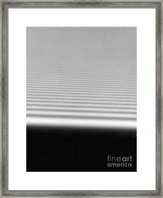 Diffraction Framed Print by Omikron