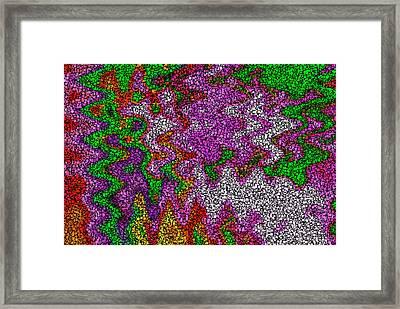 Digital Boxes Framed Print by Stefan Kuhn