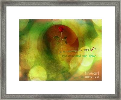 Digital Dreams Framed Print by Fania Simon