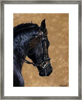 Dignified Framed Print by Loreen Pantaleone
