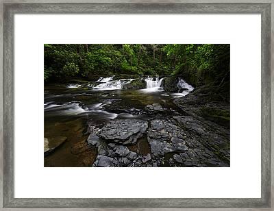 Dingmans Creek II Framed Print by Rick Berk