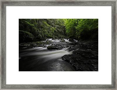 Dingmans Creek IIi Framed Print by Rick Berk