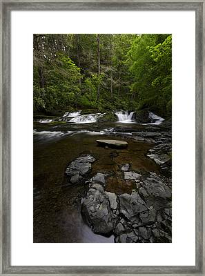 Dingmans Creek Framed Print by Rick Berk