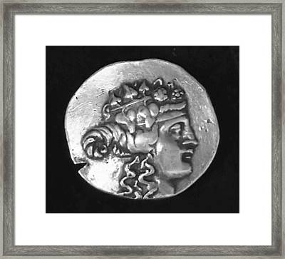 Dionysus Framed Print by Unknown