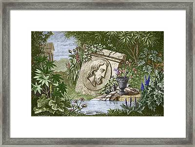 Dioscorides, Ancient Greek Physician Framed Print by Sheila Terry