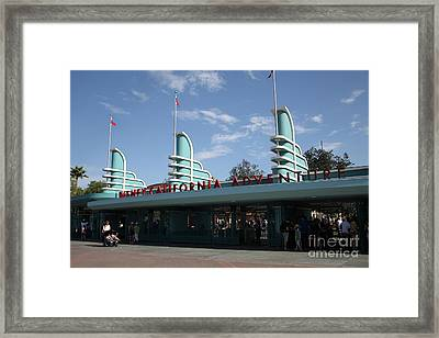 Disney California Adventure - Anaheim California - 5d17521 Framed Print by Wingsdomain Art and Photography