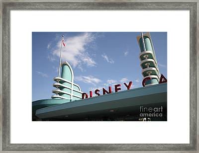 Disney California Adventure - Anaheim California - 5d17525 Framed Print by Wingsdomain Art and Photography
