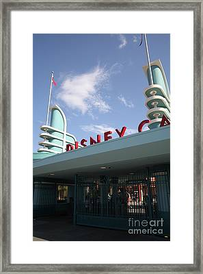 Disney California Adventure - Anaheim California - 5d17527 Framed Print by Wingsdomain Art and Photography