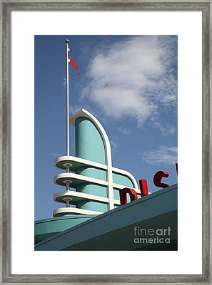 Disney California Adventure - Anaheim California - 5d17530 Framed Print by Wingsdomain Art and Photography