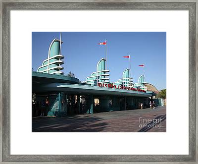 Disney California Adventure - Anaheim California - 5d17537 Framed Print by Wingsdomain Art and Photography