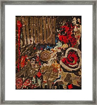 Disorder Framed Print by Marco Kienle