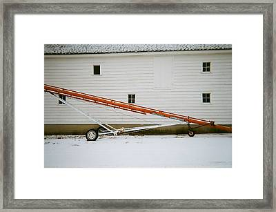 Dissect Framed Print by Todd Sherlock