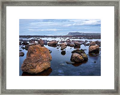 Distant Castle View Framed Print by Svetlana Sewell