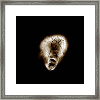 Distortion Framed Print by Fine Art  Photography