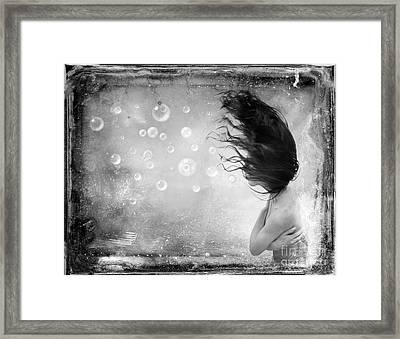 Disturbia Framed Print by Jacky Gerritsen