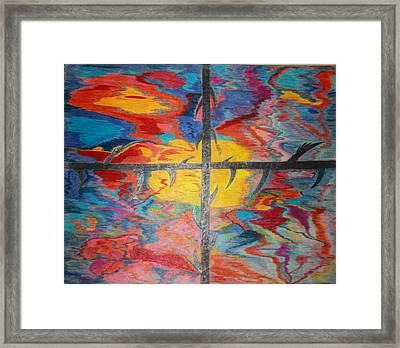 Divine Dusk Framed Print by Todd Breitling