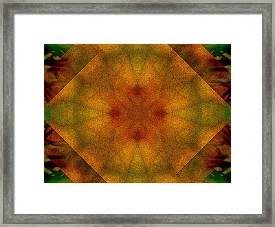 Divine Light Framed Print by Lynzi Wildheart