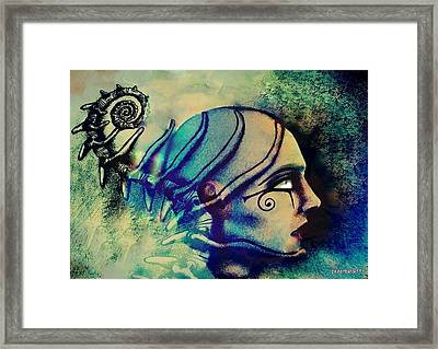 Diving Into The Unknown Framed Print by Paulo Zerbato