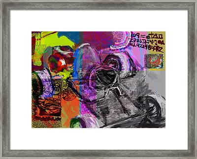 Diy Gokart Framed Print by James Thomas