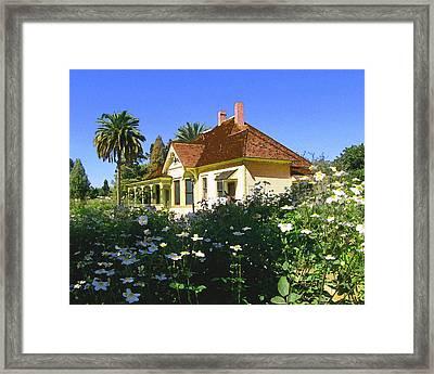 Doc Clark's House Framed Print by Timothy Bulone