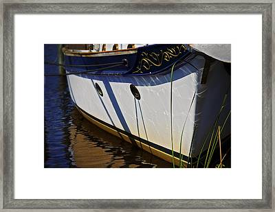 Docked Framed Print by Robert Smith