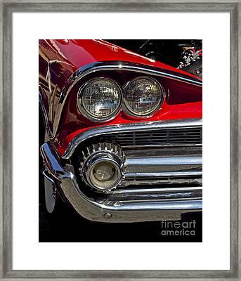 Dodge Custom Royale Framed Print by Gwyn Newcombe