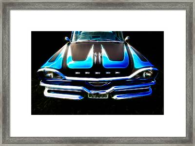 Dodged Framed Print by Phil 'motography' Clark