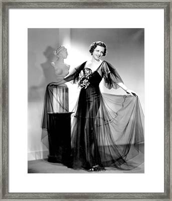 Dodsworth, Mary Astor, 1936 Framed Print by Everett