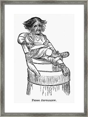 Dog-faced Boy, 1874 Framed Print by Granger