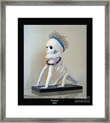 Dogman -2012 Framed Print by Tammy Ishmael - Eizman